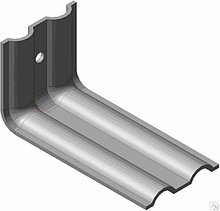 Крепежный кронштейн эконом КК 50х50х50, 2 мм