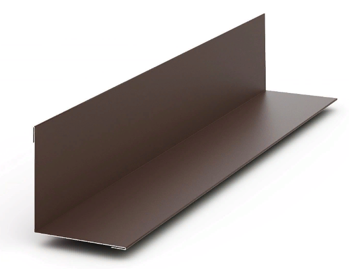 Угол внутренний Матовый 75x75x3000 мм