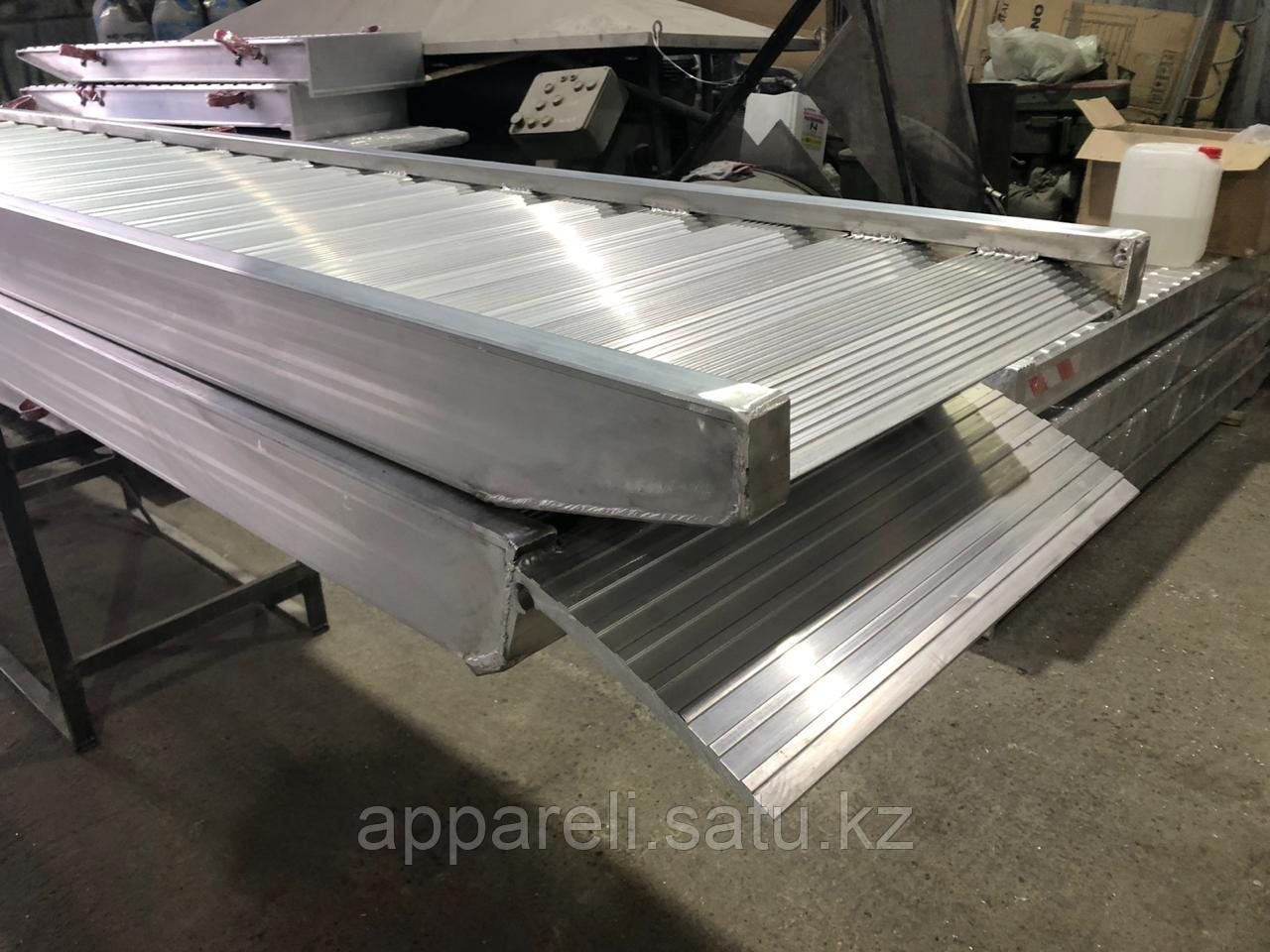 Алюминиевые сходни от производителя (трап, аппарель) 7,5 тонн