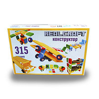 Набор пластикового конструктора 315 деталей в коробке.