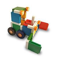 Бульдозер разборный, игрушка конструктор.
