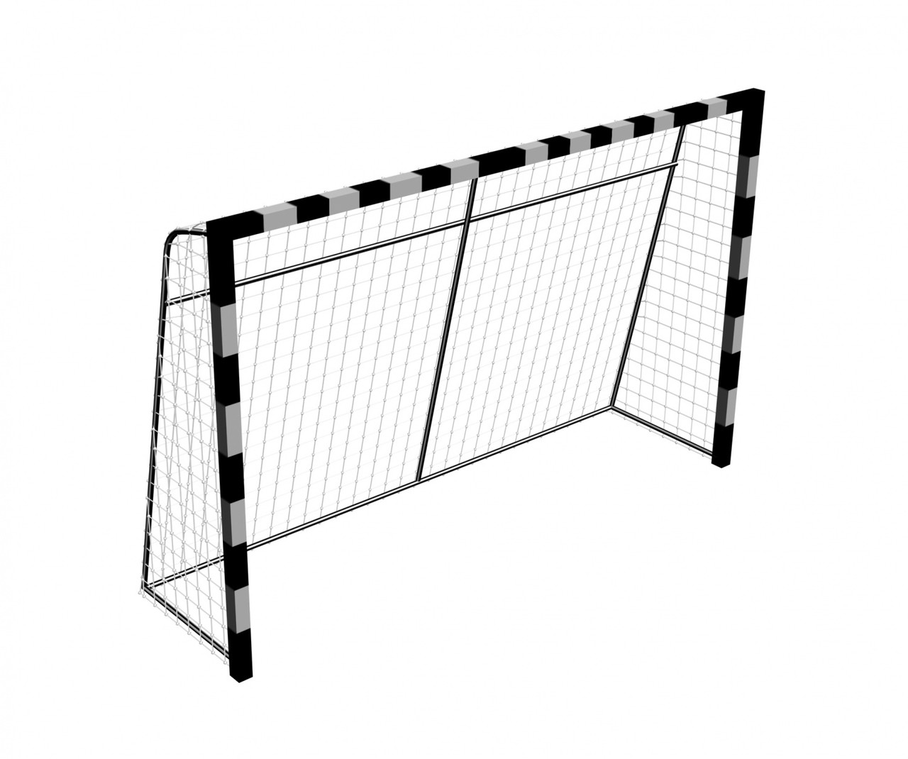 Ворота мини футбол из 4 частей
