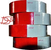 Светотражающая контурная лента EGP красно-белая 50мм Х 45.7метров