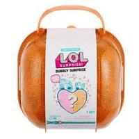 L.O.L. Шипучий сюрприз, кукла и питомец, оранжевый чемодан.