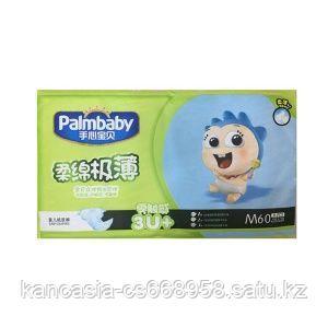 Palmbaby Подгузники Palmbaby 3, M, 60 шт/упак.