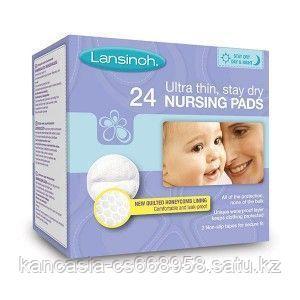 Lansinoh Вкладыши, LANSINOH в бюстгалтер Lansinoh Blue Lock Disposable Nursing Pads, 24 шт