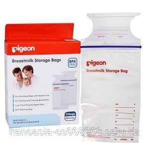 Pigeon Пакеты, PIGEON для заморозки и хранения грудного молока 180 мл.,25 шт