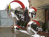 Зеркало дорожное с козырьком (Чехия)