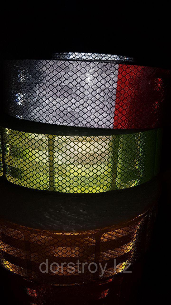 Светоотражающая лента сегментированная Для строительных объектов - фото 2