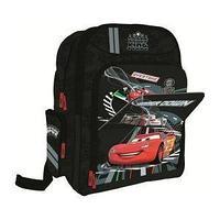 Cars Школьный рюкзак, текстиль, размер 41х32х17 см