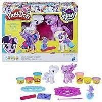 Hasbro Play-Doh Набор пластилина Play-Doh, Твайлайт и Рарити.