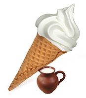 Сухая Смесь для мороженого Сливочная