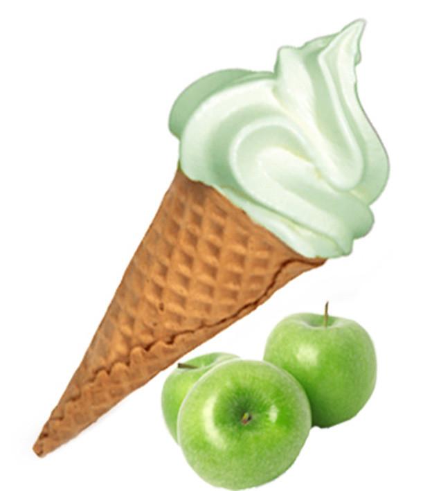 Сухая Смесь для мороженого Зеленое яблоко