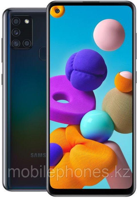 Смартфон Samsung Galaxy A21s 32Gb Черный