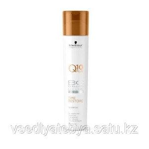 Schwarzkopf Шампунь для длинных волос Возрождение Q10+ BC Time Restore Shampoo 250 мл