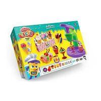"""Danco Toys Набор креативного творчества """"Тесто для лепки MASTER DO"""" «Фабрика морожено"""", 15 цветов."""
