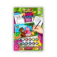 "Danco Toys Набор для творчества ""Раскраска по номерам Painter kids Два мишки"""
