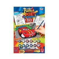 "Danco Toys Набор для творчества ""Раскраска по номерам Painter kids Тачка"""