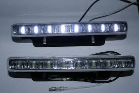 Универсальные дневные ходовые огни LED YF-650 - фото 2