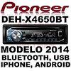 Автомагнитола Pioneer DEH-X4650BT, фото 5