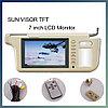 Солнцезащитный козырек автомобиля TFT LCD монитор, фото 3