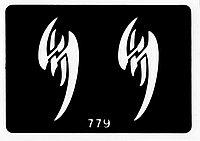 Трафарет для тату № 779