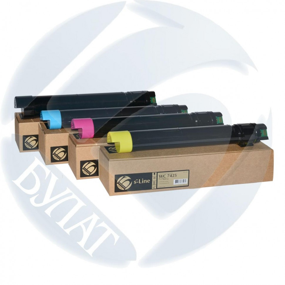 Тонер-картридж БУЛАТ s-Line для Xerox PHASER 6500 106R01602 2.5k (Magenta)