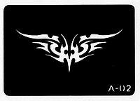 Трафарет для тату № А-02