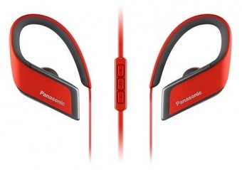 Наушники-вкладыши беспроводные Panasonic RP-BTS30GC-R ВТ (красный) - фото 2
