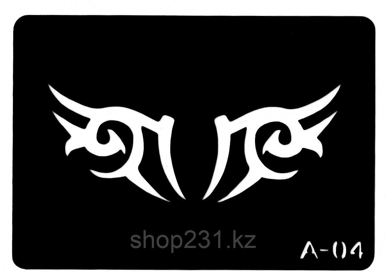 Трафарет для тату № А-04