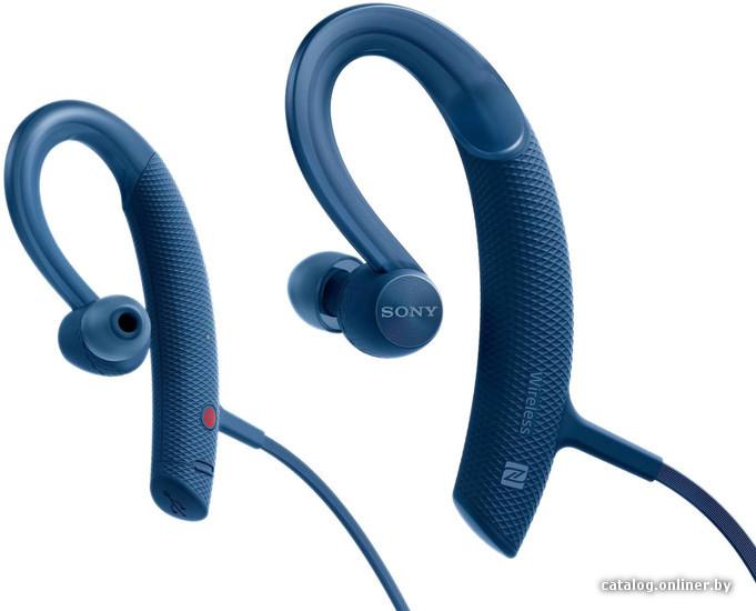 Наушники-вкладыши беспроводные Sony MDRXB80BSL.E (синие)