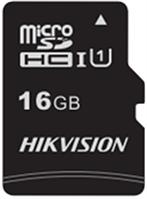 Флеш-накопитель Hikvision HS-TF-C1/16G  Карта памяти  HIKVISION, microSDHC, 16GB, Class10, более 300 циклов