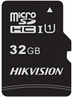 Флеш-накопитель Hikvision HS-TF-C1/32G  Карта памяти  HIKVISION, microSDHC, 32GB, Class10, более 300 циклов