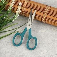 Ножницы для вышивания с насечками, 11 см, цвет синий