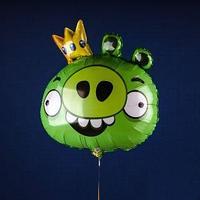 Фольгированные фигуры, Angry Birds король Свиней, 35 дюйм