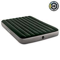 Intex Надувной матрас двухместный Dura-beam Standard, 152х203х25см, зелёный