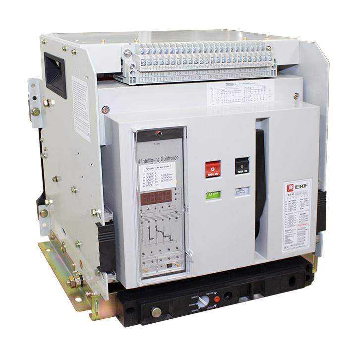 Выключатель автоматический ВА-45 3200/2500 3P 80кА выкатной EKF PROxima