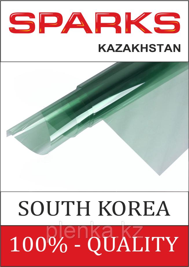 Пленка теплосберегающая, атермальная. IR NanoCeramic 75 Green, цена за 1 кв.м.