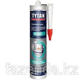 Герметик  Tytan для аквариумов бесцветный 310 мл