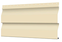 Металлосайдинг 226 мм RAL 1015 глянец Корабельный брус Цена 1040 тенге при заказе свыше 50 п.м