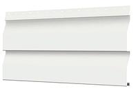 Металлосайдинг 226 мм RAL 9003 глянец Корабельный брус Цена 1040 тенге при заказе свыше 50 п.м, фото 1