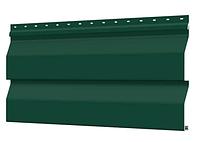 Металлосайдинг 226 мм RAL 6005 глянец Корабельный брус Цена 850 тенге при заказе свыше 50 п.м