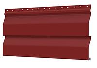 Металлосайдинг 226 мм RAL 3011 глянец Корабельный брус Цена 850 тенге при заказе свыше 50 п.м