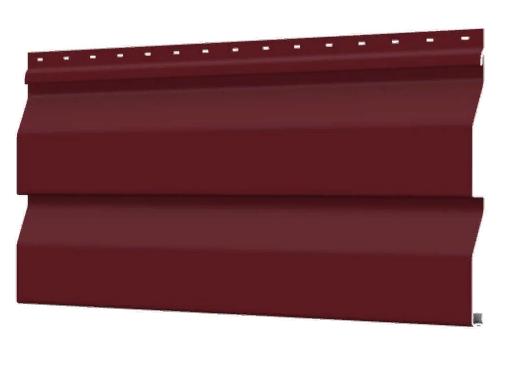 Металлосайдинг 226 мм RAL 3005 глянец Корабельный брус Цена 1095 тенге при заказе свыше 50 п.м