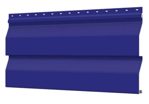 Металлосайдинг 226 мм RAL 5002 глянец Корабельный брус Цена 850 тенге п.м  при заказе свыше 50 п.м !!!