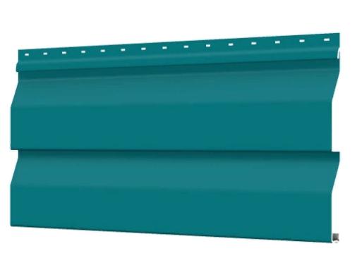 Металлосайдинг 226 мм RAL 5021 глянец Корабельный брус Цена 1095 тенге п.м  при заказе свыше 50 п.м !!!