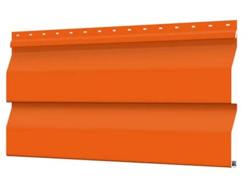 Металлосайдинг 226 мм RAL 2004 глянец Корабельный брус Цена 1170 тенге при заказе свыше 50 п.м