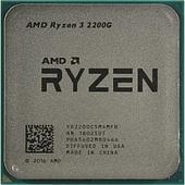 Процессор AMD Ryzen 3 2200G TRAY RX Vega Graphics