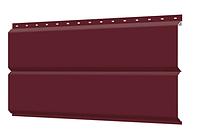Металлосайдинг 240 мм RAL 3005 глянец  Europanel Цена 1095 тенге при заказе свыше 50 п.м