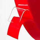 Силиконовая двухсторонняя клейкая лента повышенной адгезии (прозрачная) 0,5Х33, фото 3